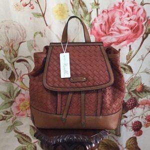 Simply Noelle Brown Backpack